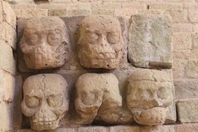 Copan - skulls