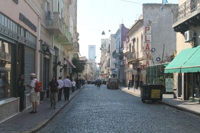 Buenos Aires - San Telmo area
