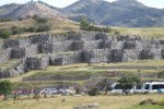 First view of Sacsayhuaman