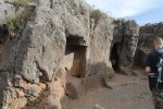 Sacsayhuaman - paths and tunnels through the rock