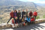 Our Colca Canyon co-travellers