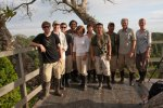 Our fearless Amazon expedition reaches top of tower