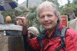 Balancing an egg on the equator