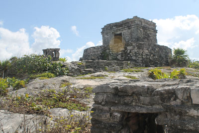 Tulum - temple of the wind
