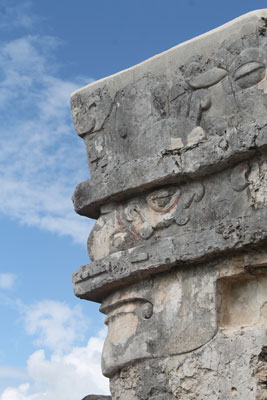 Tulum - temple of the paintings
