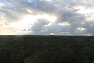 Coba - view from top of Nohoch Mul
