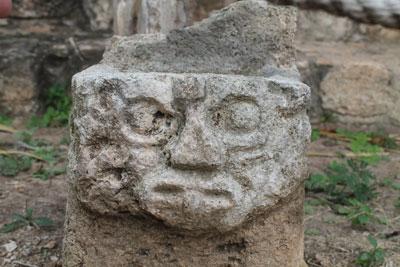 Ek'Balam - stone carving