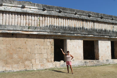 Uxmal - house of the turtles