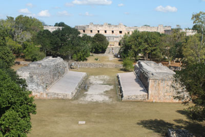 Uxmal - ball court
