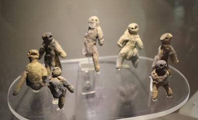 Dzibilchaltun - the seven figures found in the observatory