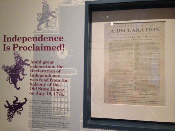 The old State House now contains a museum that describes the origins and key battles of the revolution.