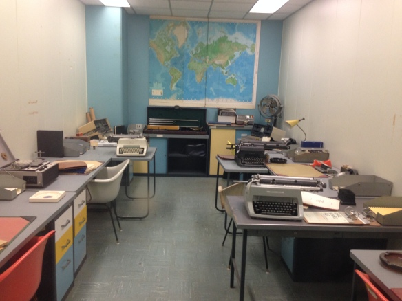 One of 300 rooms in the Diefenbunker
