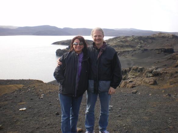 Along the coast of Reykjanes peninsula