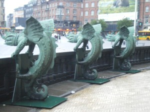 There be green dragons in Copenhagen!